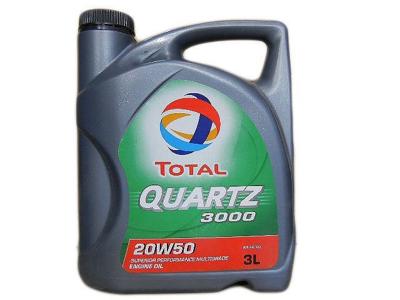 Total Motor Oil QUARTZ 3000 3 Litre