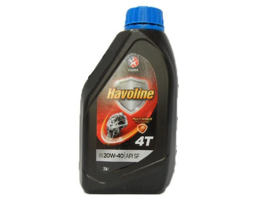 Caltex Motor Oil 4T MOTOR CYCLE 0.7 Litre