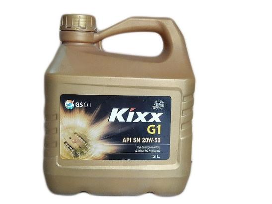 """Kixx Motor Oil """"G1""""3 Litre"""