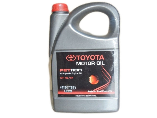 Toyota Genuine Engine Oil Petron 4-Litre