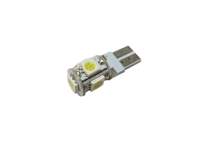 5 SMD LED Bulb White