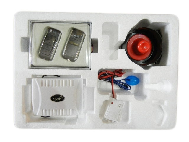 Car Alarm System Flip Key Remote