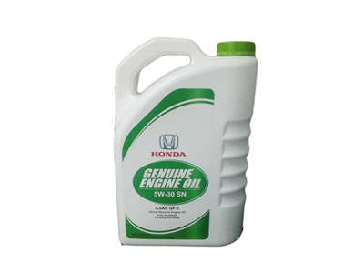 Honda Genuine Engine Oil 3.7-Litre Fully Synthetic 5W-30 SN