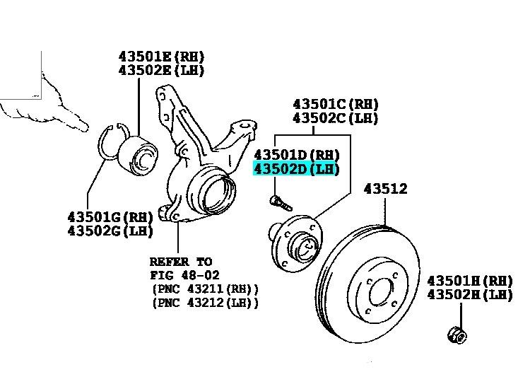 Corolla Genuine Wheel Bolt