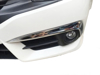 Civic Front Fog Lamp Cover Chrome