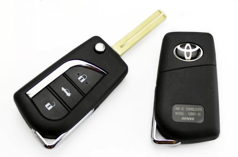 Corolla 2016 Grande Remote Cover With Blank Key
