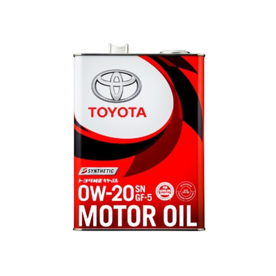 Toyota Engine Oil  4-Litre  Fully Synthetic 0W-20 SN