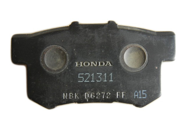 Disc Pad Rear Genuine 2012