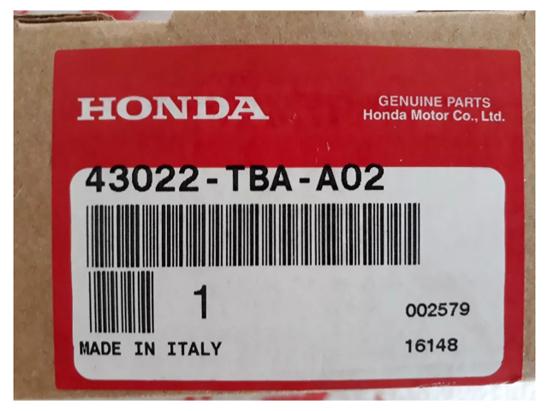 Disc Brake Pad Front Genuine Honda Civic 2020