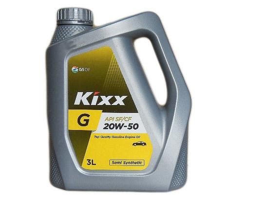 """Kixx Motor Oil """"G""""3 Litre"""