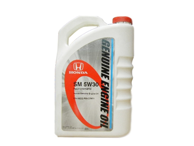 Honda Genuine Engine Oil 3.7-Litre Fully Synthetic