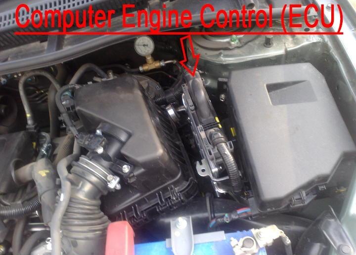 ECU W/O Computer Cover